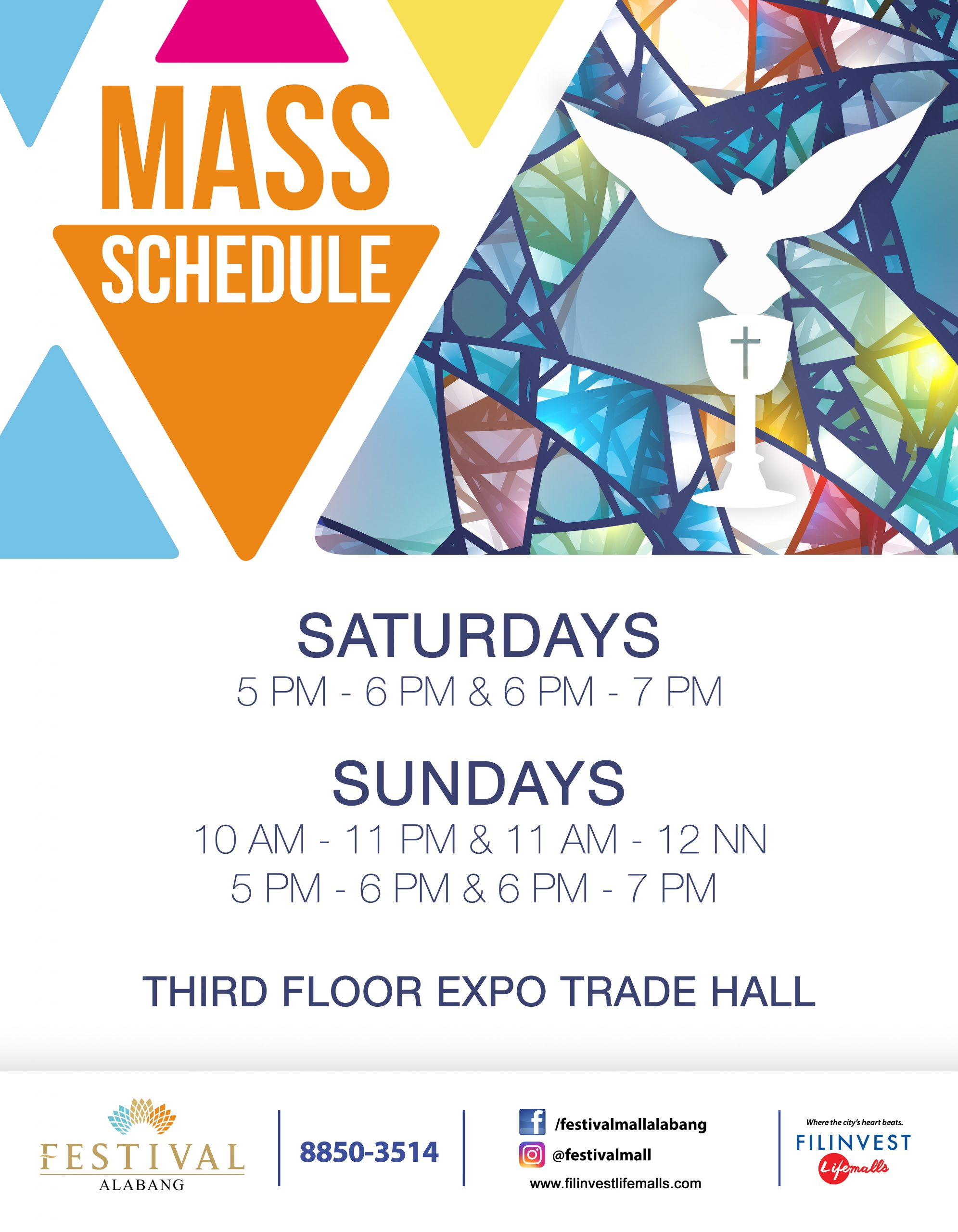 CELEBRATE THE HOLY MASS AT FESTIVAL MALL
