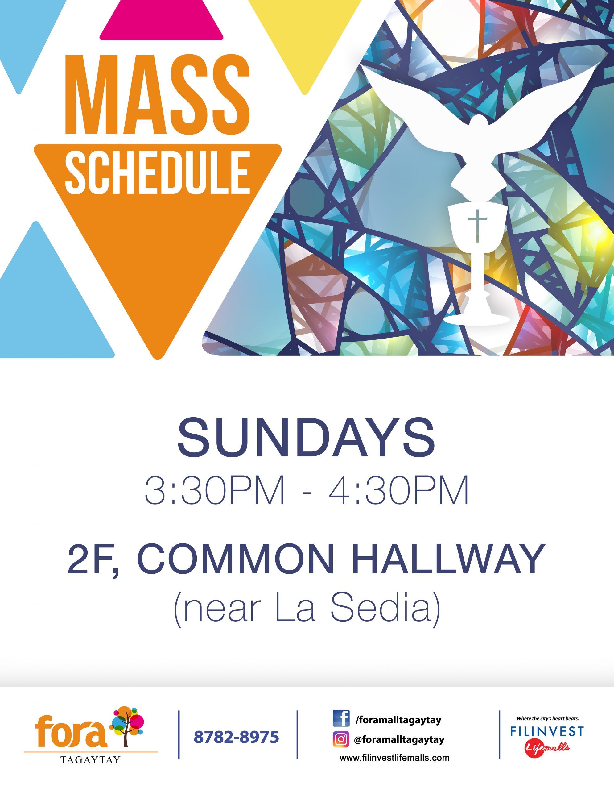 CELEBRATE THE HOLY MASS AT FORA