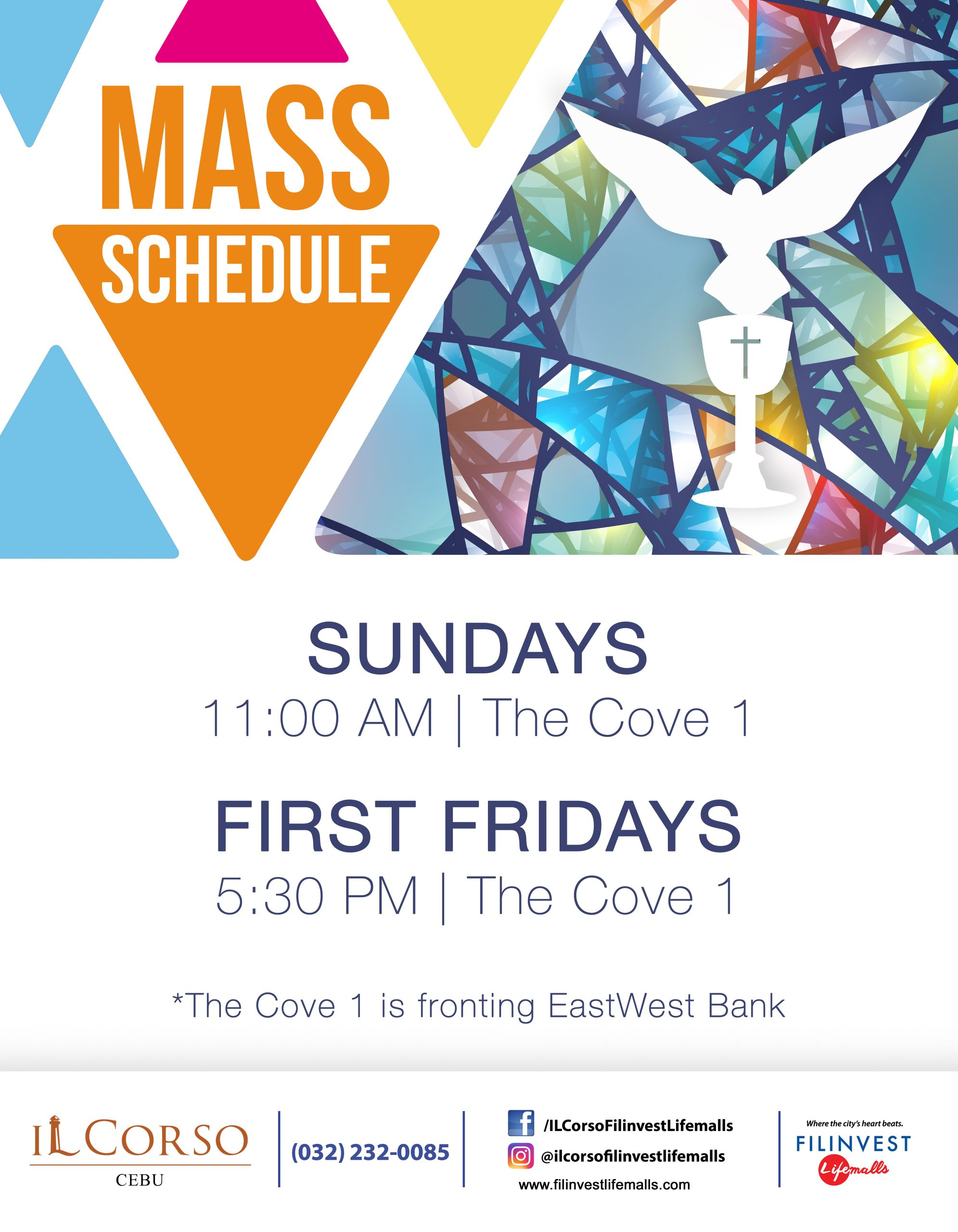 CELEBRATE THE HOLY MASS AT IL CORSO
