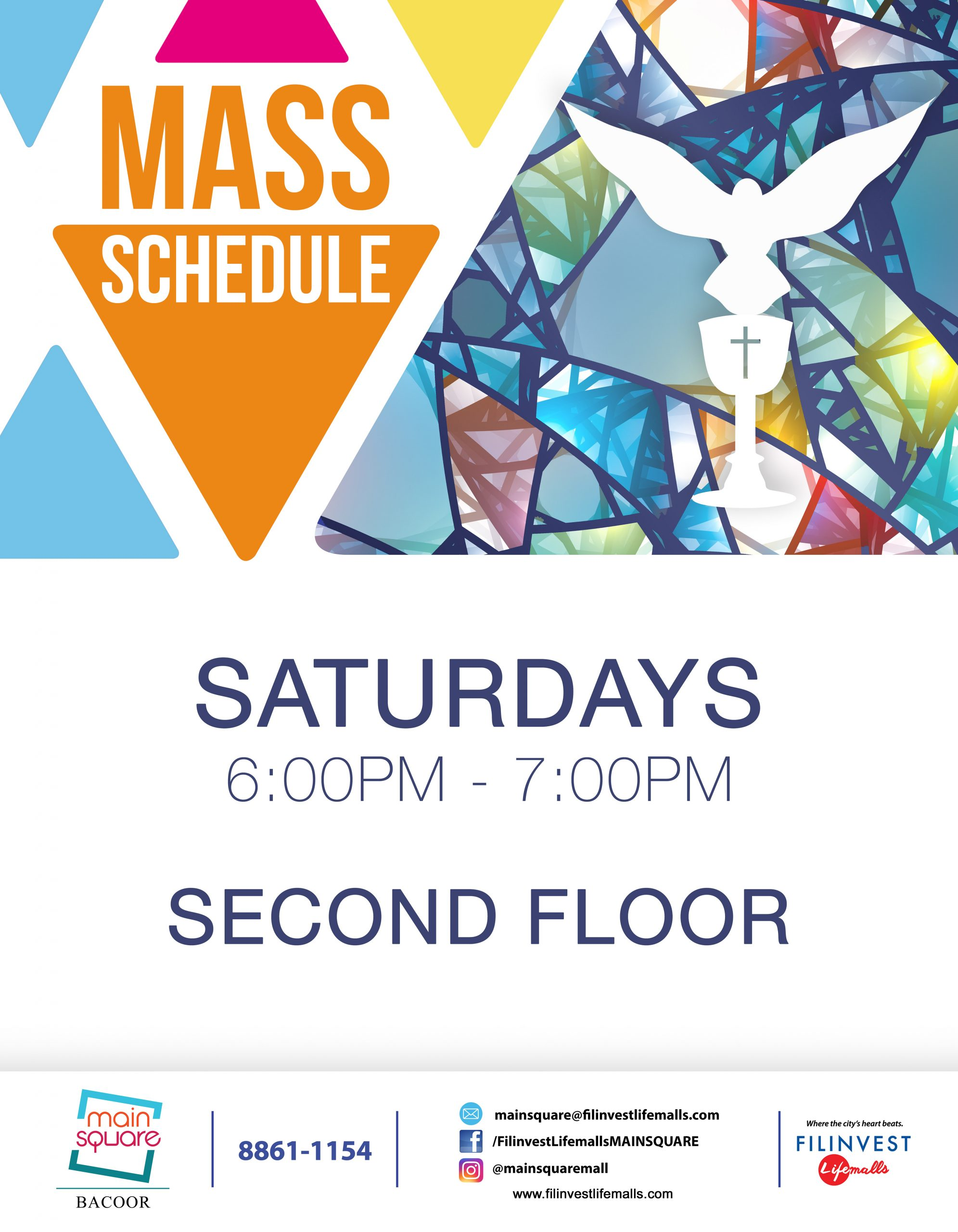 CELEBRATE THE HOLY MASS AT MAIN SQUARE