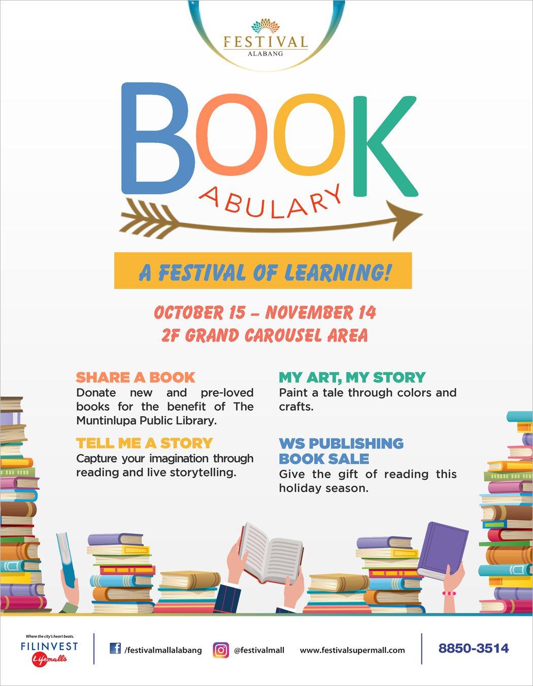 Bookabulary: A Festival of Learning (Festival Mall)