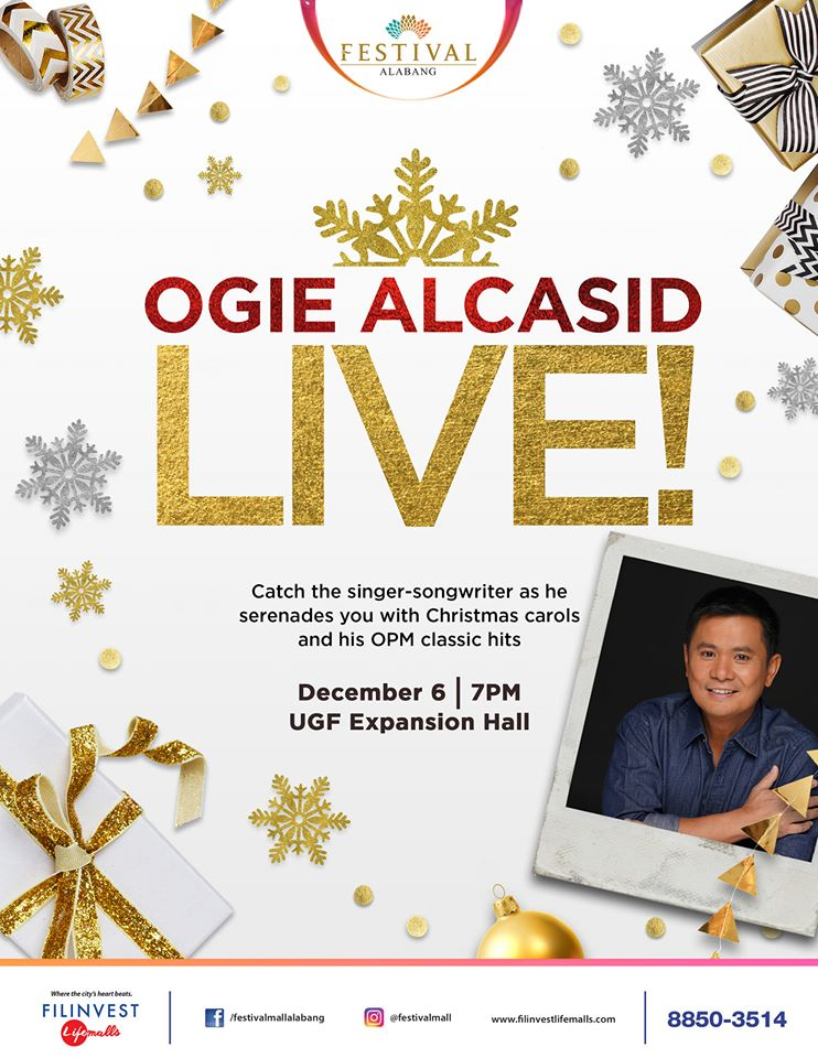 Ogie Alcasid Live at Festival Mall