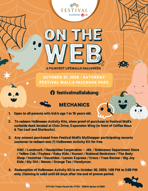 ON THE WEB: A Filinvest Lifemalls Halloween (Festival Mall)