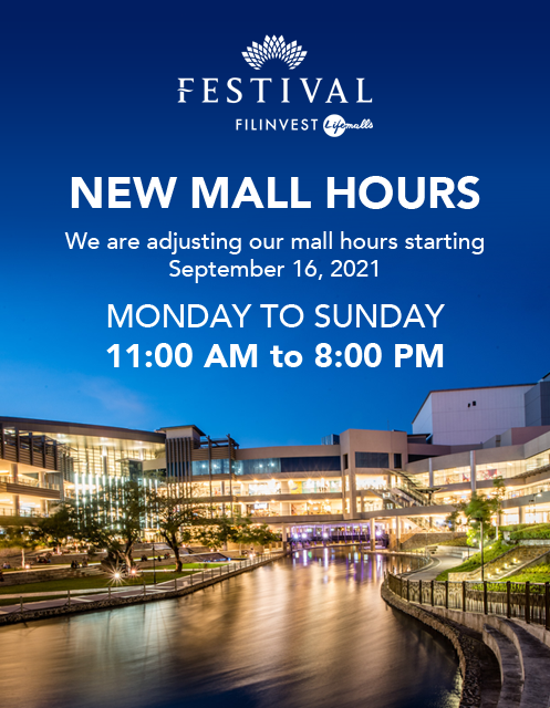MALL ADVISORY (Festival Mall)
