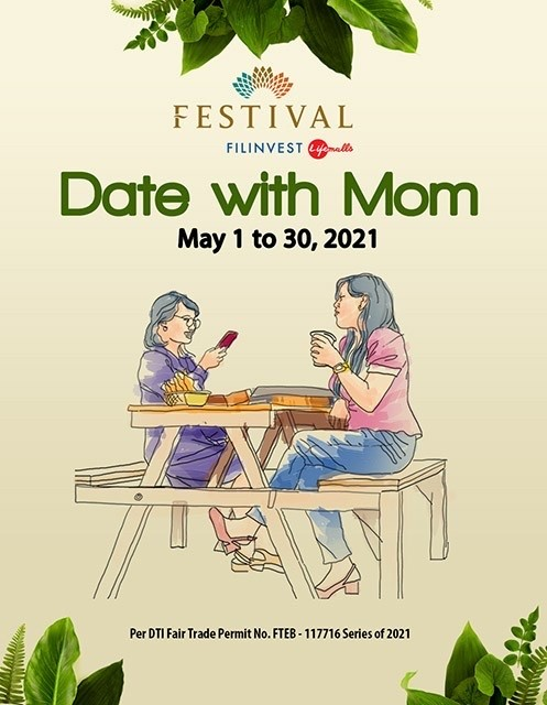 DATE WITH MOM at Festival Mall