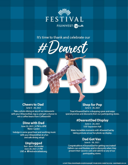 #DearestDad (Festival Mall)